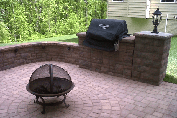 Entertainment Area Paving
