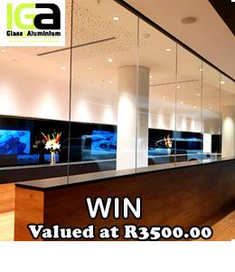 IGA Glass and Aluminium - Prize