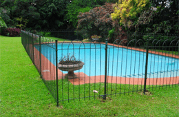 Ferro Art Pool and Garden Fencing