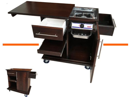 Hospitality Equipment - Trolleys, Racks and More