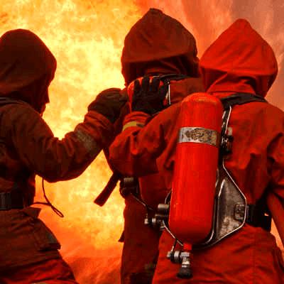 Fire Foam Application