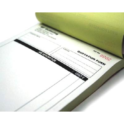 NCR Book Printing