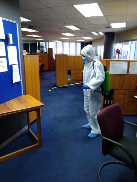 Workplace and Building Decontamination